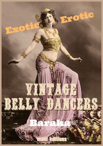 Exotic Erotic Vintage Belly Dancers, by Baraka, ebook cover