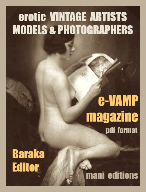 eVAMP digital magazine of Erotic Vintage Artists Models & Photogrphers